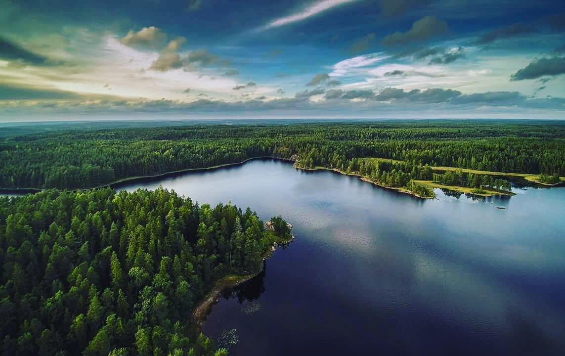 Beautiful Teijo Nationalpark in the Finland