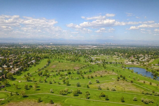Golf Course from 350ft