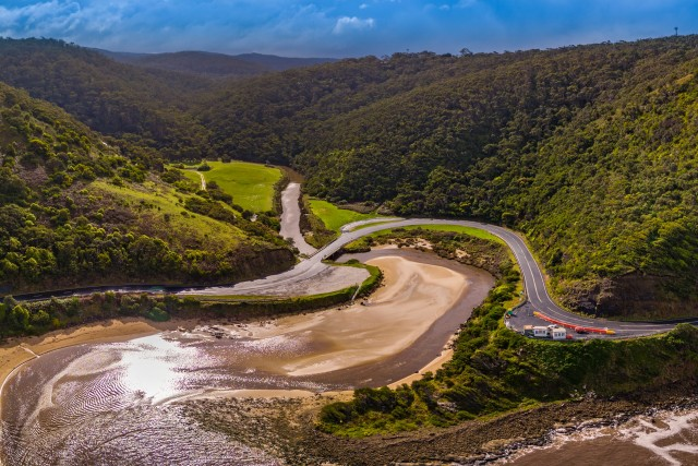 Lorne Scenic Lookout – Drone Panorama