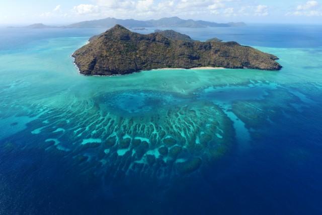 Ilôt Mtsamboro – Mayotte – Océan Indien – Entre récif et océan