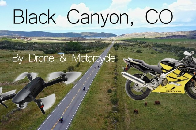 Black Canyon Motorcycle Trip, Filmed with Drone in 4K!