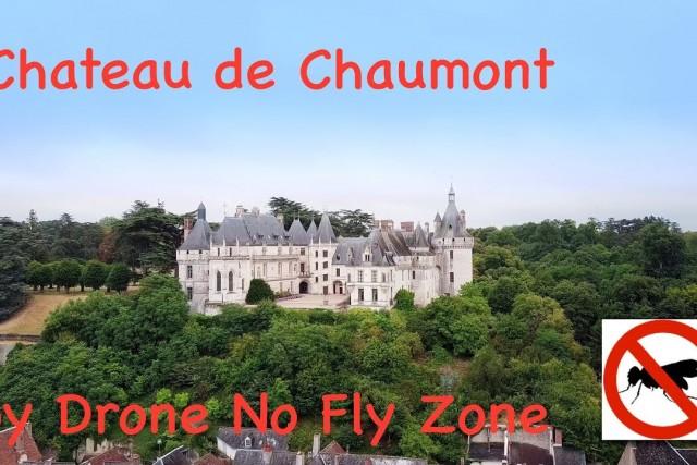 Château de Chaumont – Loire Valley- France 4K by Drone