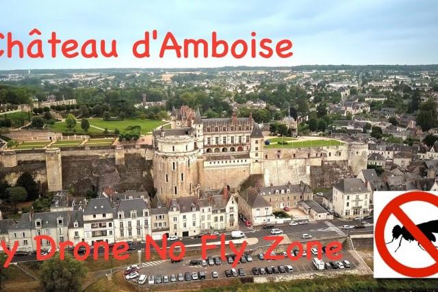 Château Royal d'Amboise by Mavic Pro 4K
