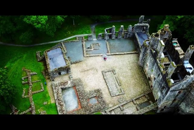 El castillo Huntly