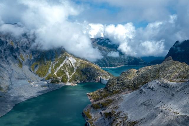 Les barrages d'emosson (Suisse) (Valais)