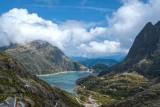 Lac d'emosson et son barrage (Suisse) (Valais)