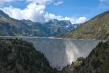 Barrage d'Emosson (Suisse) (Valais)