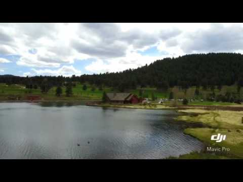 Evergreen Lake in Colorado