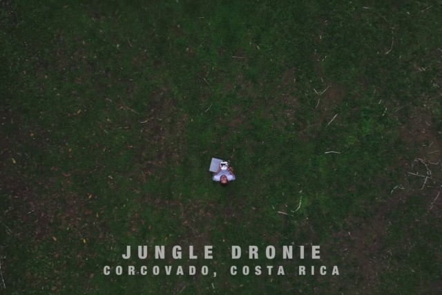 Jungle View from Drone – Corcovado Costa Rica
