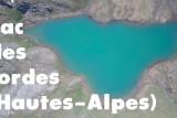 Lac des cordes en drone (Cervières, Hautes-Alpes)