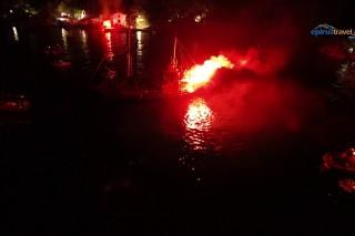 Parga night in Greece – full of fireworks