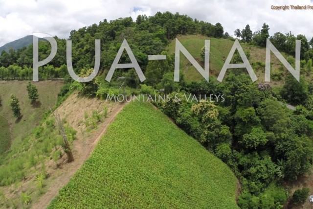 Pua Valley in Nan province TBS with gopro in 2.7k fly over mountain north thailand