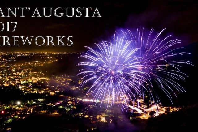 Sant'Augusta Fireworks 2017