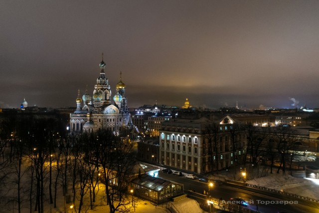 The Church of the Savior on Spilled Blood, St. Petersburg, Russia