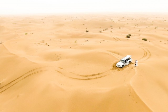 Stuck in Desert