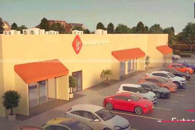 3D Walkthrough Animation of Life Church Interior in Canada