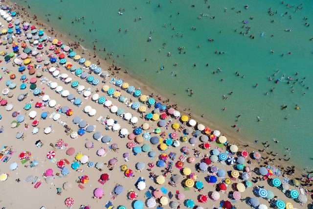 One of Turkey's tourism destinations: Altinkum