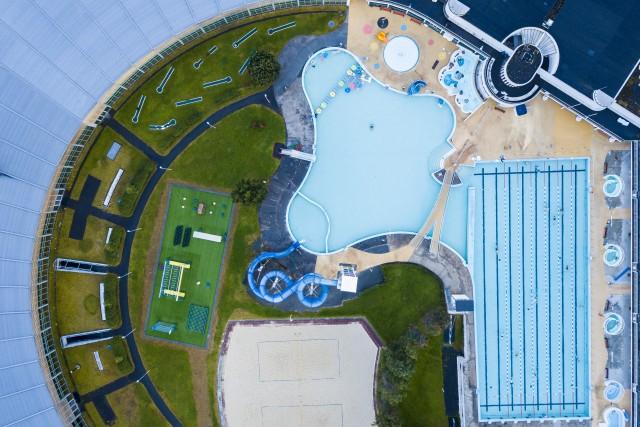 Swimming pool in Reykjavik