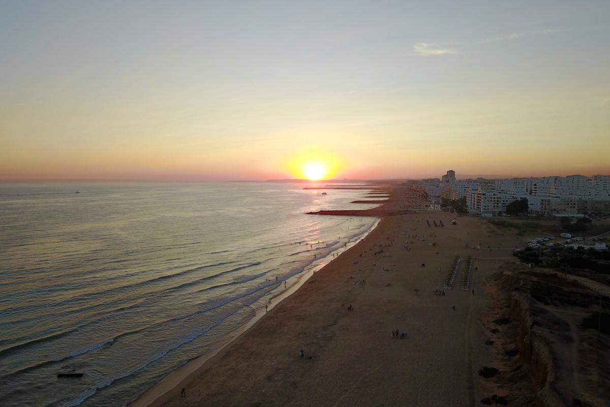 Sunset in Quarteira