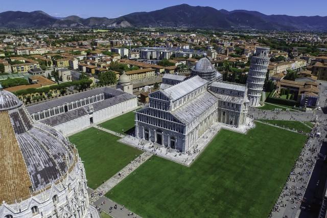 Pisa town.