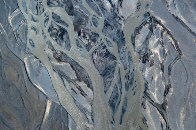 Abstract aerial view
