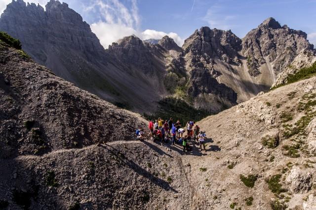 Trekking in Casera Val Binon, Friuli Venezia Giulia, Italy