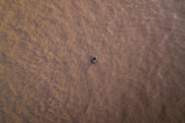 The Lonely Fisherman – River – Thailand –
