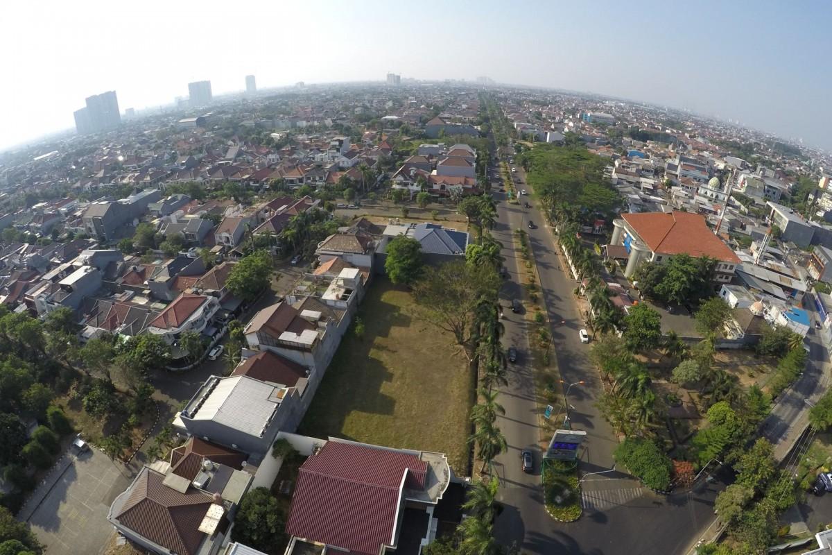 Gerbang Utama Permata Buana – Kembangan – Jakarta Barat