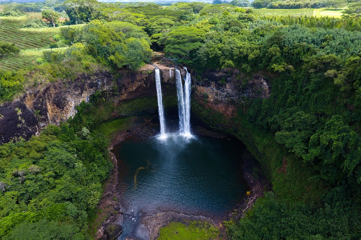 Waterfalls From Above