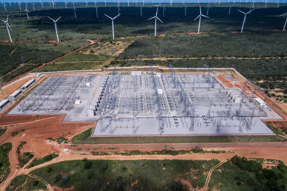 Subestação de Energia em Parazinho RN