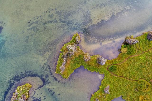Myvatn lake, Myvatn, Iceland