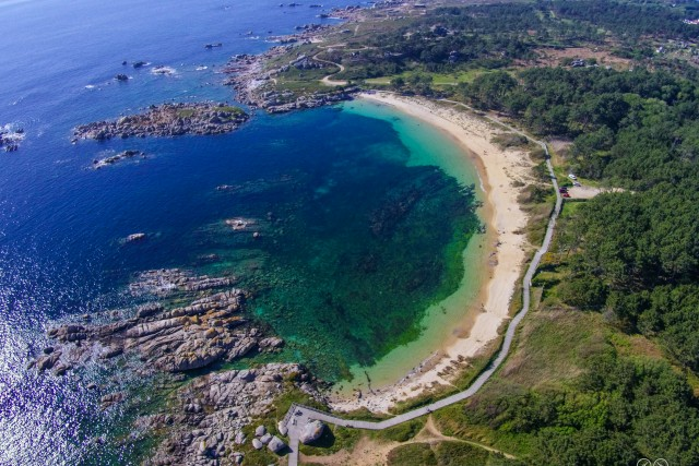 Canelas Beach, San Vicente do Mar, Galicia