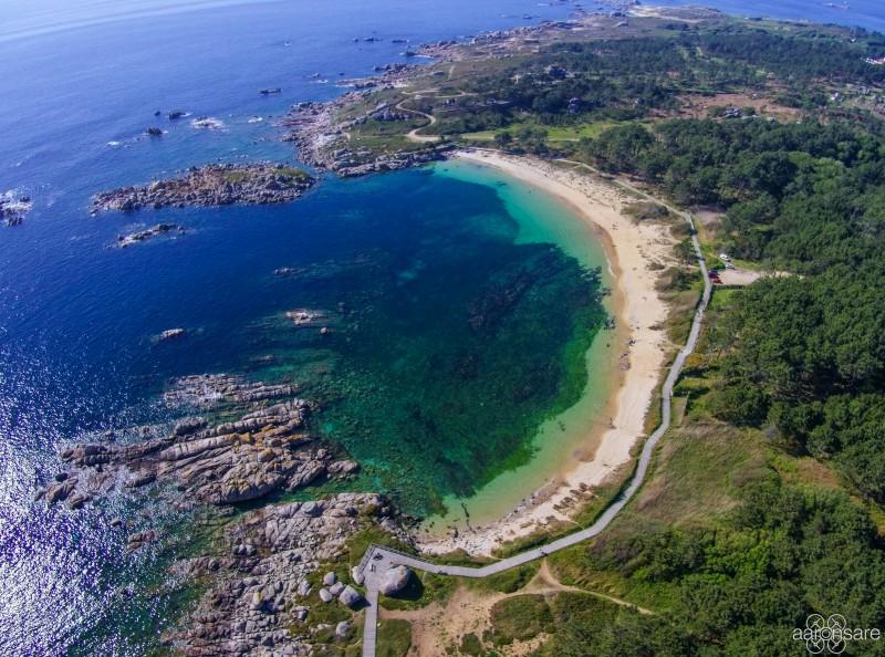 Canelas Beach, San Vicente do Mar, Galicia