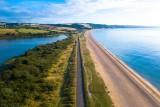 Slapton – Aerial – Freshwater to Saltwater