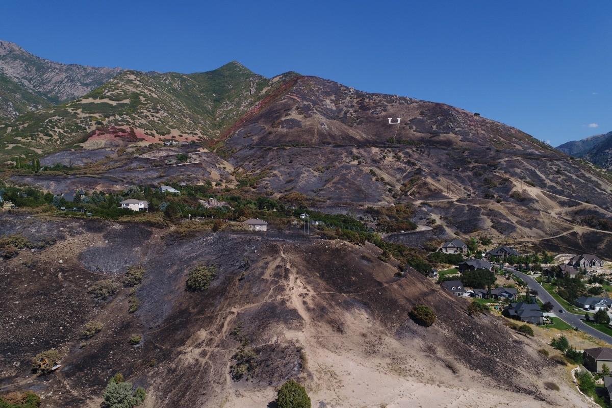 Uintah Utah Wildfire