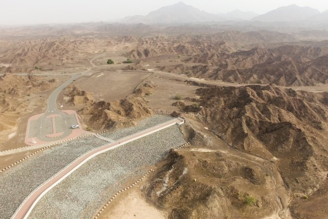 Aerials View Of Wadi Showka