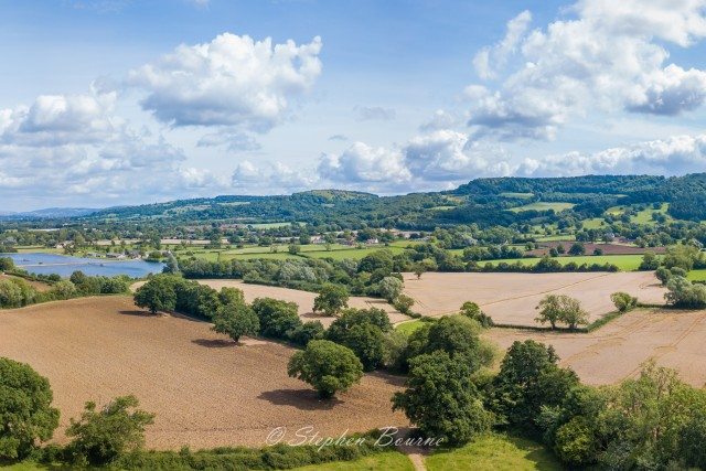 Witcombe valley