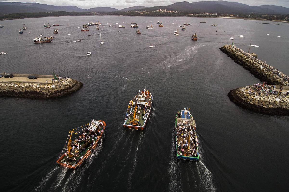 Procesión marítima da Guadalupe 2017