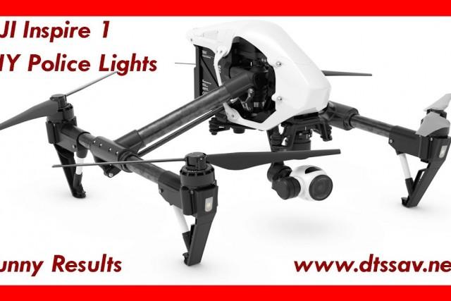 DJI Inspire 1 Police Light DIY