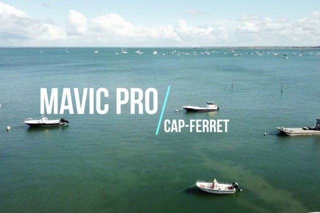 Fly over Cap-Ferret (Pointe aux cheveaux) in 4k