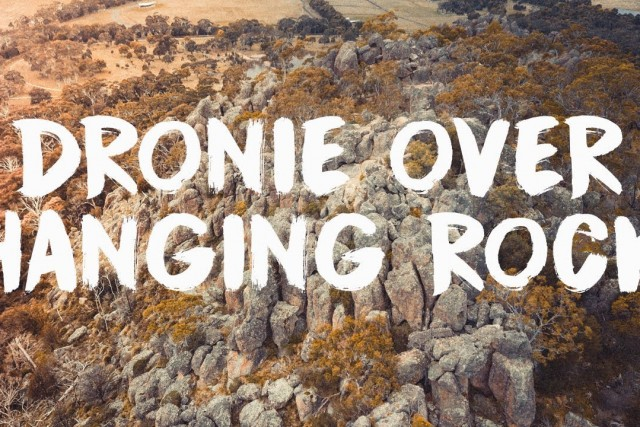 Hanging Rock Drone Aerial View | Hike to the top for a Dronie