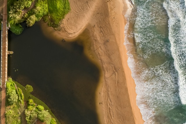 Stream and Ocean