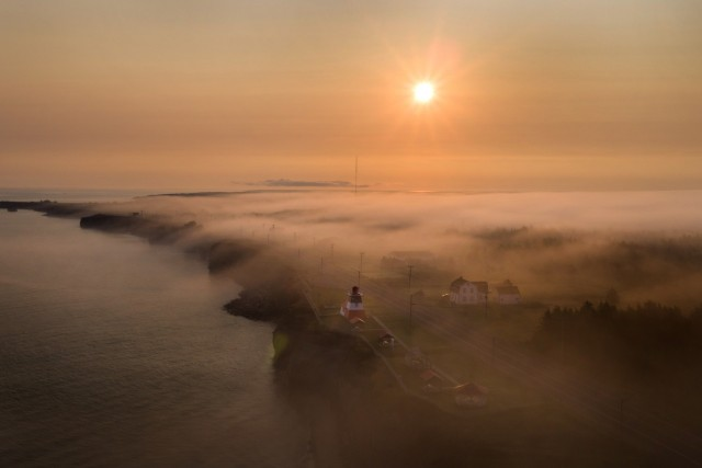 Fog and Lighthouse