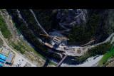 Moracica bridge under construction