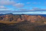 Multi colored mountains in Landmannalaugar, Iceland