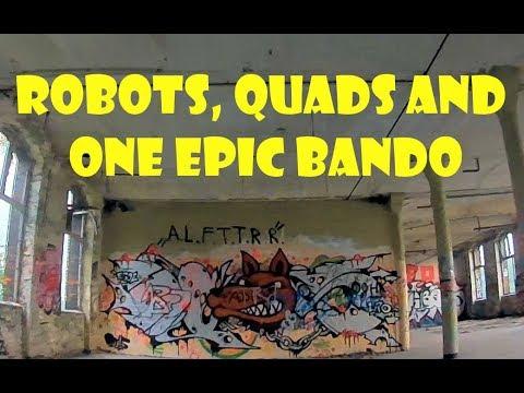 Robots, quads, three girls and one FPV paradise