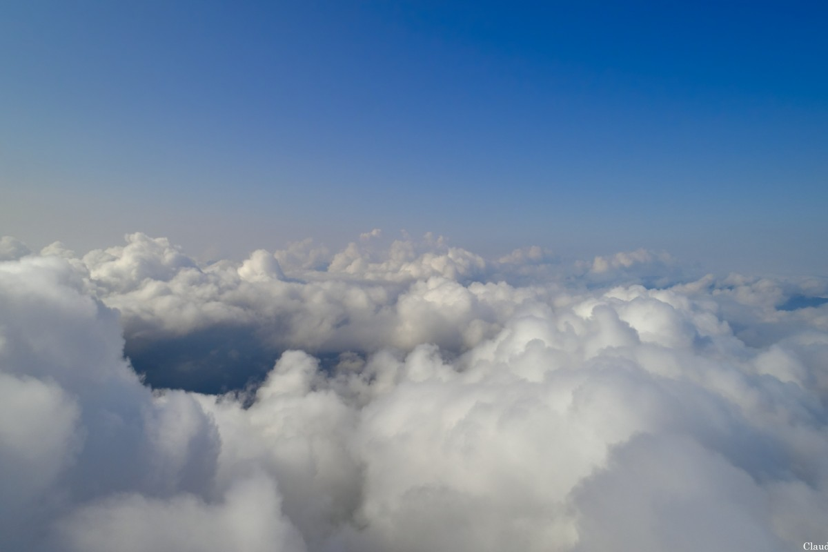 Over The clouds.  Part two.