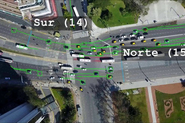 Traffic Analysis of Aerial Video Data