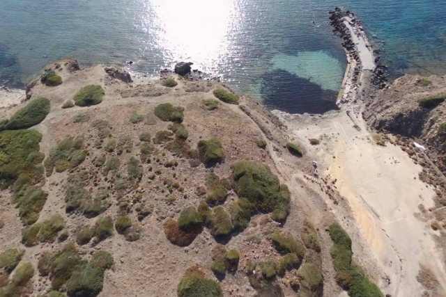 Villaggio abbandonato , capo Sperone – sant'Antioco – Sardegna