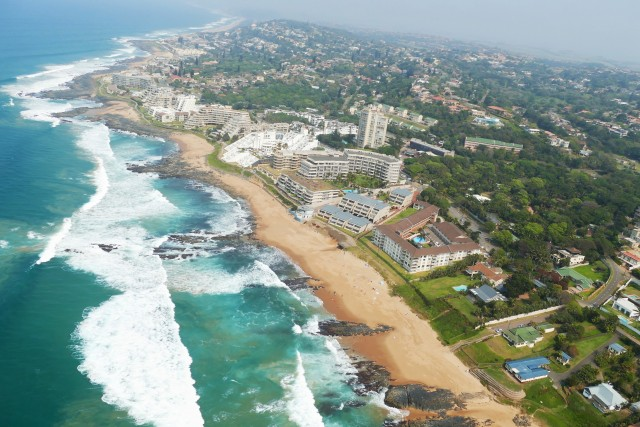 Ballito from the air
